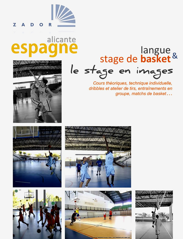 Stage International Basket Alicante Espagne