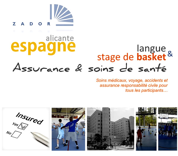 stage d espagnol et de basket alicante assurance. Black Bedroom Furniture Sets. Home Design Ideas