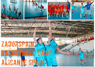 International basketball summer camp in Alicante
